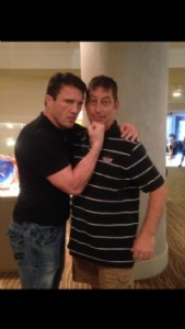Chael and Randy at UFC on Fox 8 in Seattle