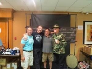 Johny Lightning, DDP, Randy, Sgt. Slaughter