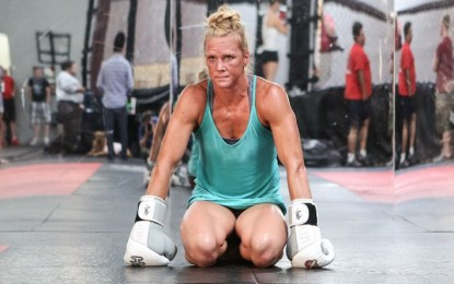 'Super fidgety' Holly Holm finally trading arts and crafts for sparring mitts
